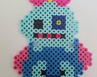 Scrump and Stitch Perler Bead Design