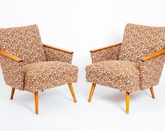 A pair of 1950s Retro armchairs
