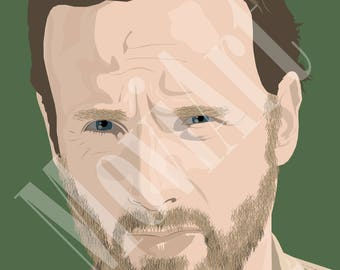 Rick Grimes by MoviArt