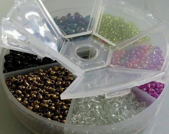 lot 100g box beads