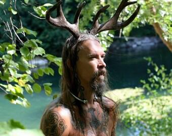 Deer antlers, deer, Hannibal Wood Cosplay wood deer