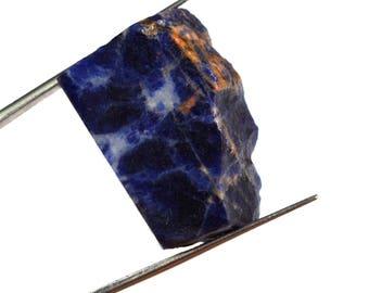 57.70 Ct. Natural Untreated Namibian Sodalite Healing Gemstone Rough-Free Shipping !!