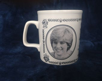 Royal Wedding - Charles and Diana Commemorative mug from 1981