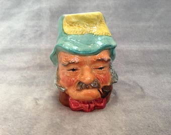 Old Gaffer - handpainted Kelsboro Ware Toby jug. Made in England