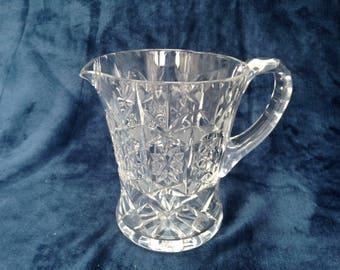 Ediburgh cut crystal water jug / pitcher circa 1970s