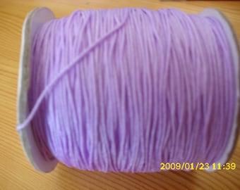 5 meters of nylon thread for 0.8 mm purple shamballa
