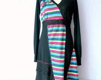 Dress size M - 40, Bohemian romantic women sweater