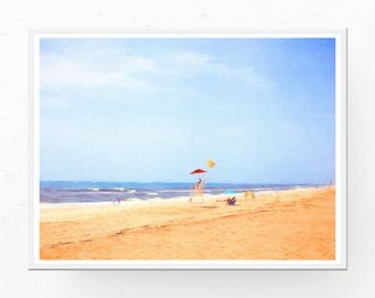 Beach Wall Art - Ocean Picture, Digital Download, Ocean Print, Florida Coastal Wall Art, Beach Decor, Beach Art, Printable Wall Art
