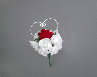 Bouquet of roses St Valentine