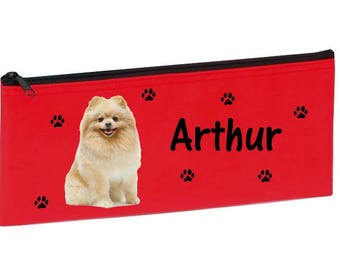 Red Spitz personalized with name package