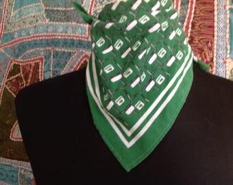 Vintage scarf, type vintage late 20 century bandana