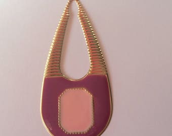 Pink drop pendant
