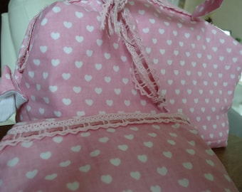 Pink lovely bag to taste for romantic girl