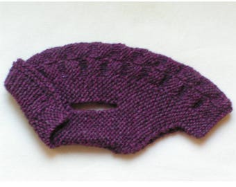 Coat / sweater for very small dog back 35cm: Violet 35 x 35 cm