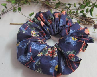 Liberty of London harberdashery hair scrunchie