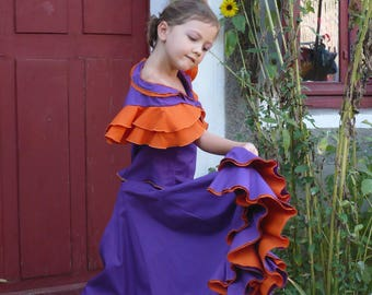 All child flamenco, size 7/8 years