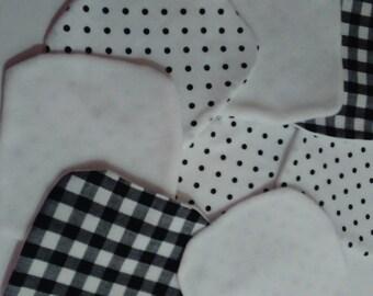 Micro fleece washable cloth set