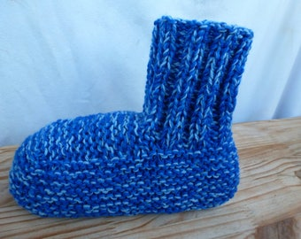comfortable slippers amount my creation shade of blue pattern is hand 41 to 46