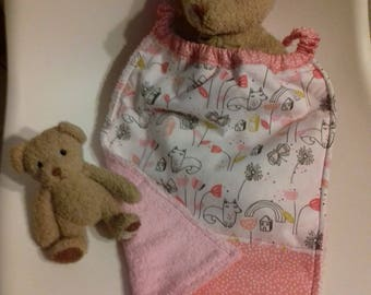 child's napkin