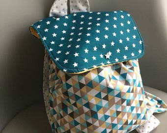 Backpack for the nursery preschool nanny to customize many colors