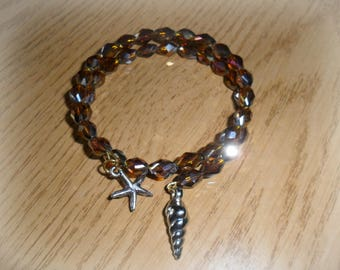 Harmonic Brown bracelet