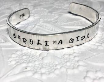 Carolina Girl  Bracelet, South Carolina Gamecocks, Tar Heels, Clemson,  Beachwear