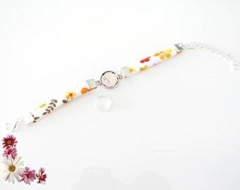 Kit complete child liberty bracelet and glass cabochon