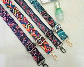 Cotton Bag Strap,Cotton  Replacement Strap, Detachable Bag Strap, Purse Handle,Detachable And Adjustable Strap