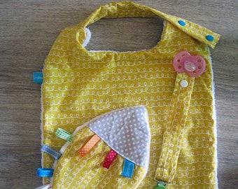 Yellow Swirl birth box