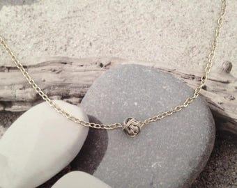 Metal wire beads Choker