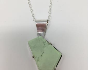 Green jasper necklace