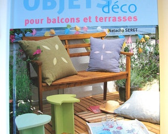 "Book ""Decorative objects for terraces and balconies"" DIY decoration of Natasha Seret Editions fish"