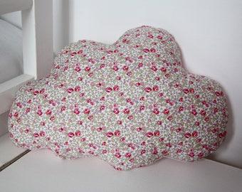 Cushion cloud Liberty pink 30 X 20 cm