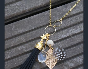 "Necklace for woman ""little star"""