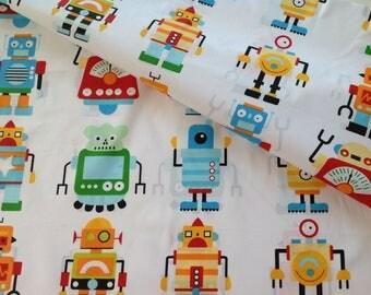 Colorful 100% cotton printed Robots coupon