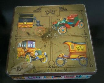 Metal box of FABIS collection