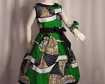 Wax, hand made MIDI dress
