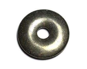 Gemstone - Pyrite Donut Pi 40 mm 4558550027412 pendant