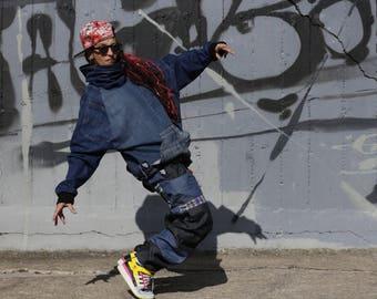 Large Pant Baggy Hip Hop Style Underground Multi Ethnic