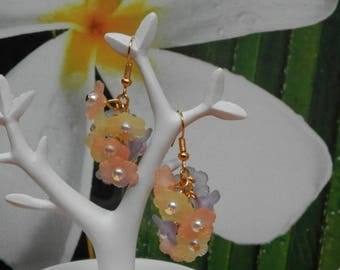 Spring (gold plated earrings)