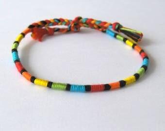 Anklet atebas multicolor hippie anklet Brasilda Colorz