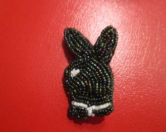 a kind beaded brooch