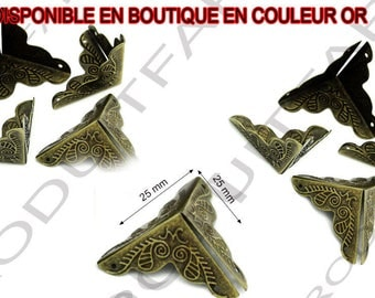 16 Bronze Angle shockproof and embellishment for furniture box safe protective corners