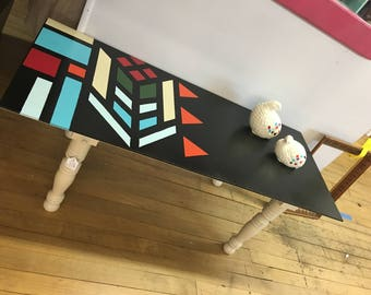 Bohemian Tribal Coffee Table
