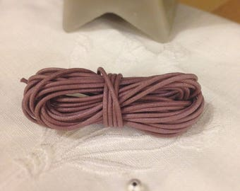 The meter - Wisteria color waxed cotton cord