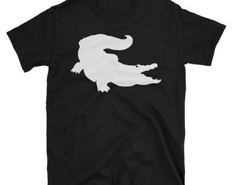 Metal Gear Online Revival MGO MGO2R Crocodile Emblem Animal Rank Unisex T-shirt