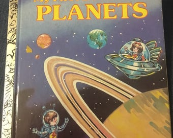 My First Book of the Planets: A Little Golden Book 1985