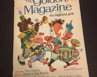the Golden Magazine for boys and girls July 1968