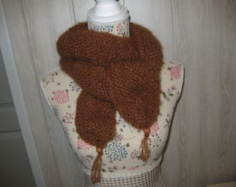 scarf in mohair wool