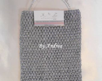 Strapless stretch, gray, stretchy crochet, 1-5 years for making Tutu dresses